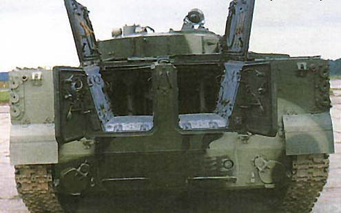 Как и в БМП-1 и БМП-2,